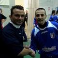 Futsal Canosa - I capitani Colaianni e Caputo