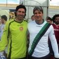 nella foto : i due portieri De Blasio e Bruno