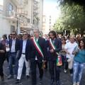 Manifestazione cittadina Canosa