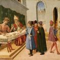 2. Il banchetto di re Totila (o San Savino cieco riconosce re Totila