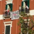 Protesta ai funerali per crollo via Roma Barletta