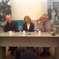 Nella foto: gli autori Franco ed Antonella Caprio ed il giornalista Antonio Bufano