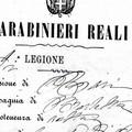 Carabinieri Reali a Canosa di Puglia