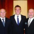 Nella Foto: Franco Merafina,Tommaso Coletti  e il padre