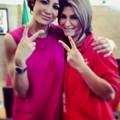 Eleonora con Stefania Sansonna