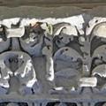 Canosa di Puglia  Anthemion cornice ionica Giove Toro