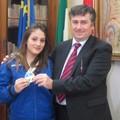 Sabrina Fuggetti con Assessore Quinto
