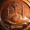 Lo stemma ligneo dei Redentoristi
