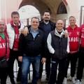 Franco Pizzuto con i dirigenti