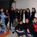 Presidente Ventola con artisti