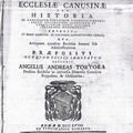 Relatio Ecclesiae Canusinae del Prevosto Tortora