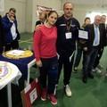 Sabrina Fuggetti con allenatore Gianni Guerrazzi