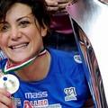 Stefania Sansonna con la medaglia