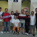 Cuocci e De Lorenzo con i tifosi