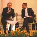 Direttore Maurizio Angelillo con Mauro Dal Sogno di Radio Norba