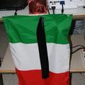 Tricolore listato a lutto