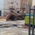 Lavori in Via Savino Di Bari