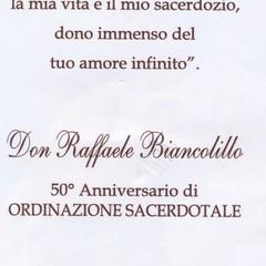 50° Don Raffaele Biancolillo