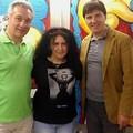 Cannati con Danilo Villa e Giorgio Grasso