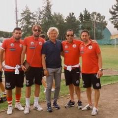 Tecnici Liberty Canosa con Giancarlo Antognoni
