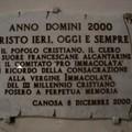 Epigrafe Anno Santo 2000