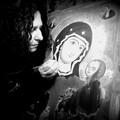 Icona della Madonna della Fonte di Caterina Cannati