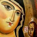 Icona Madonna della Fonte di Kataos