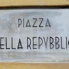 Canosa di Puglia : Piazza della Repubblica