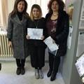 Prof.ssa Silvestri,Giulia Papagna e prof.ssa Giorgio