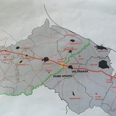 Un itinerario sulla via Traiana