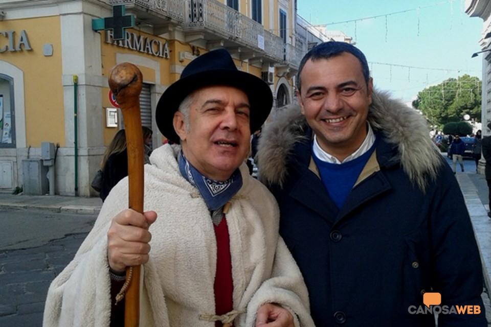 Di Nunno e vice sindaco Basile
