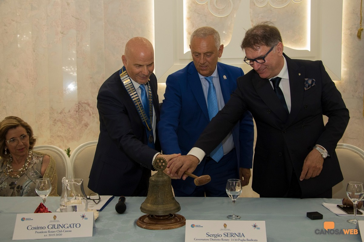 Rotary Cosimo Giungato  presidente