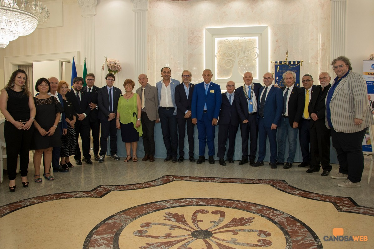 2019 Nuovo Direttivo Rotary Club Canosa