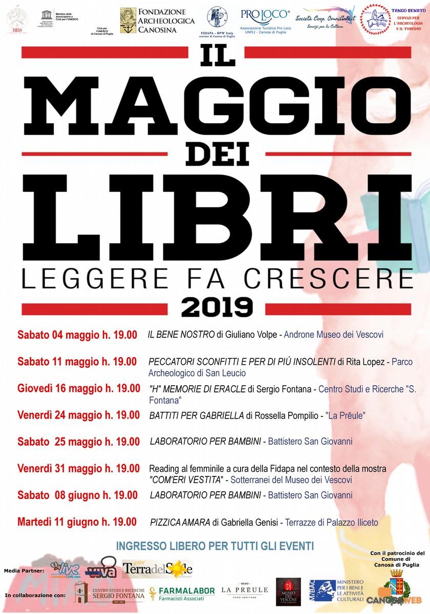 """""""IL MAGGIO DEI LIBRI"""" Canosa di Puglia(BT)"""