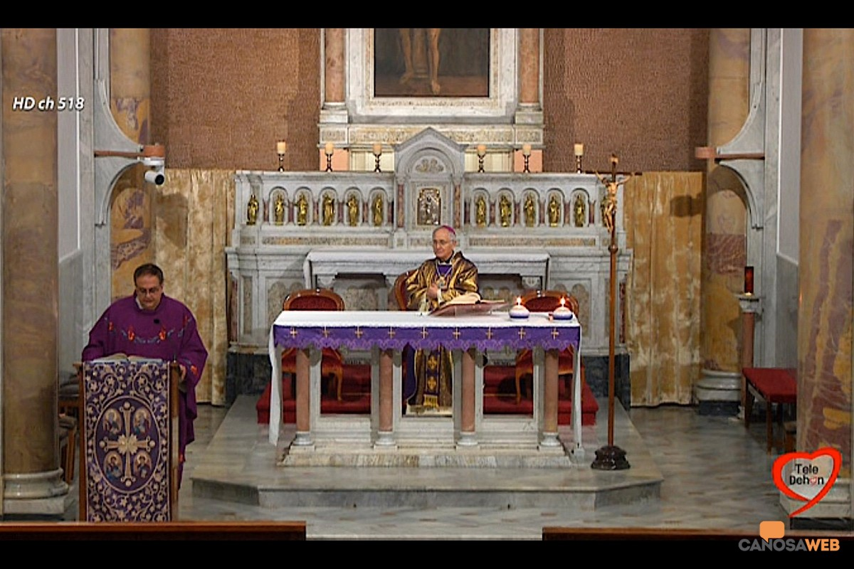 Mons.Luigi Mansi in diretta su Teledehon