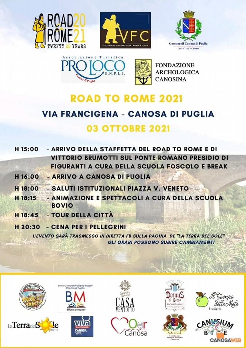 """AEVF  """"Road to Rome 2021"""": Canosa di Puglia"""