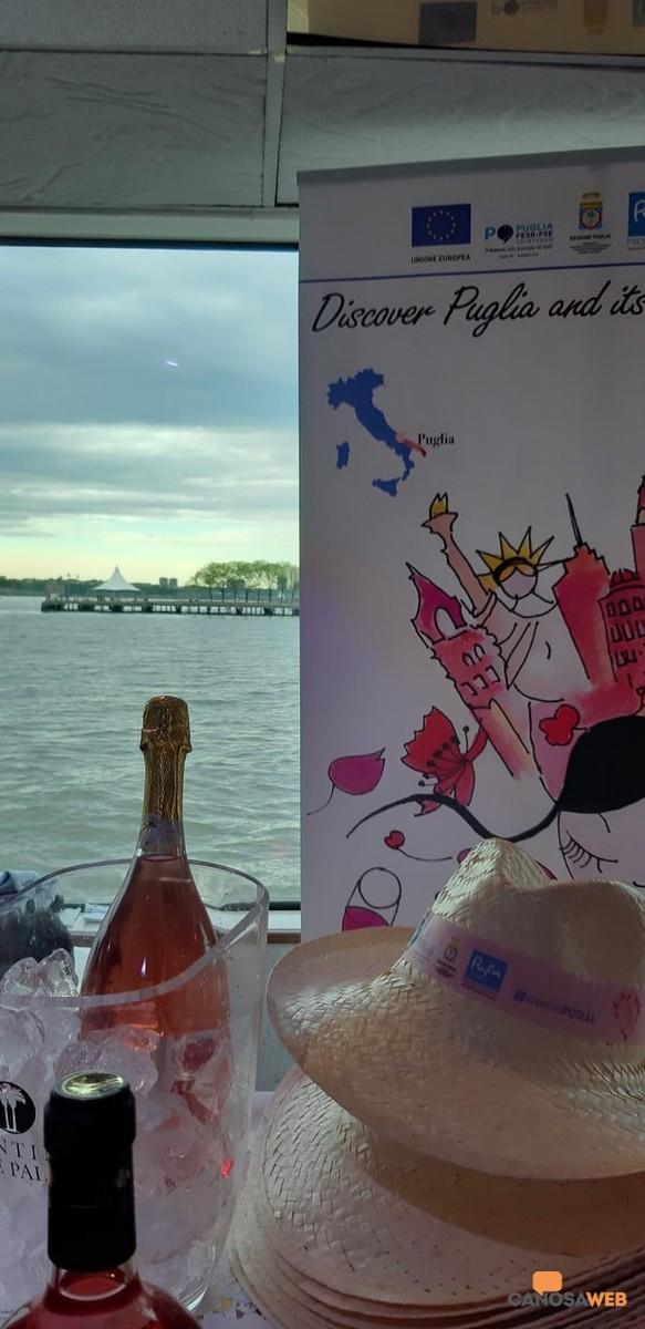 Puglia in rose sul fiune Hudson