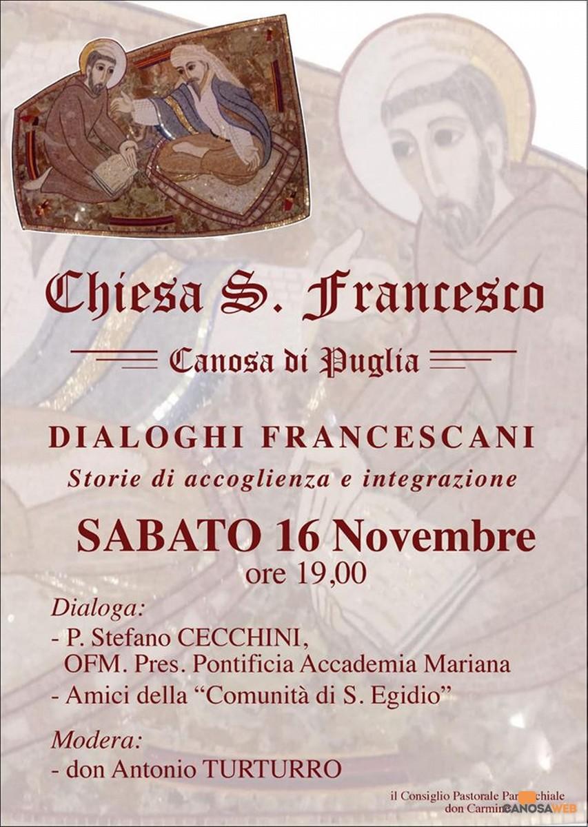 2019 Dialoghi Francescani Canosa di Puglia(BT)