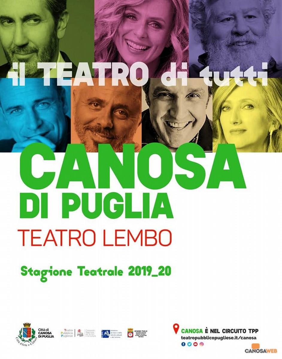 Canosa Stagione Teatrale 2019/2020
