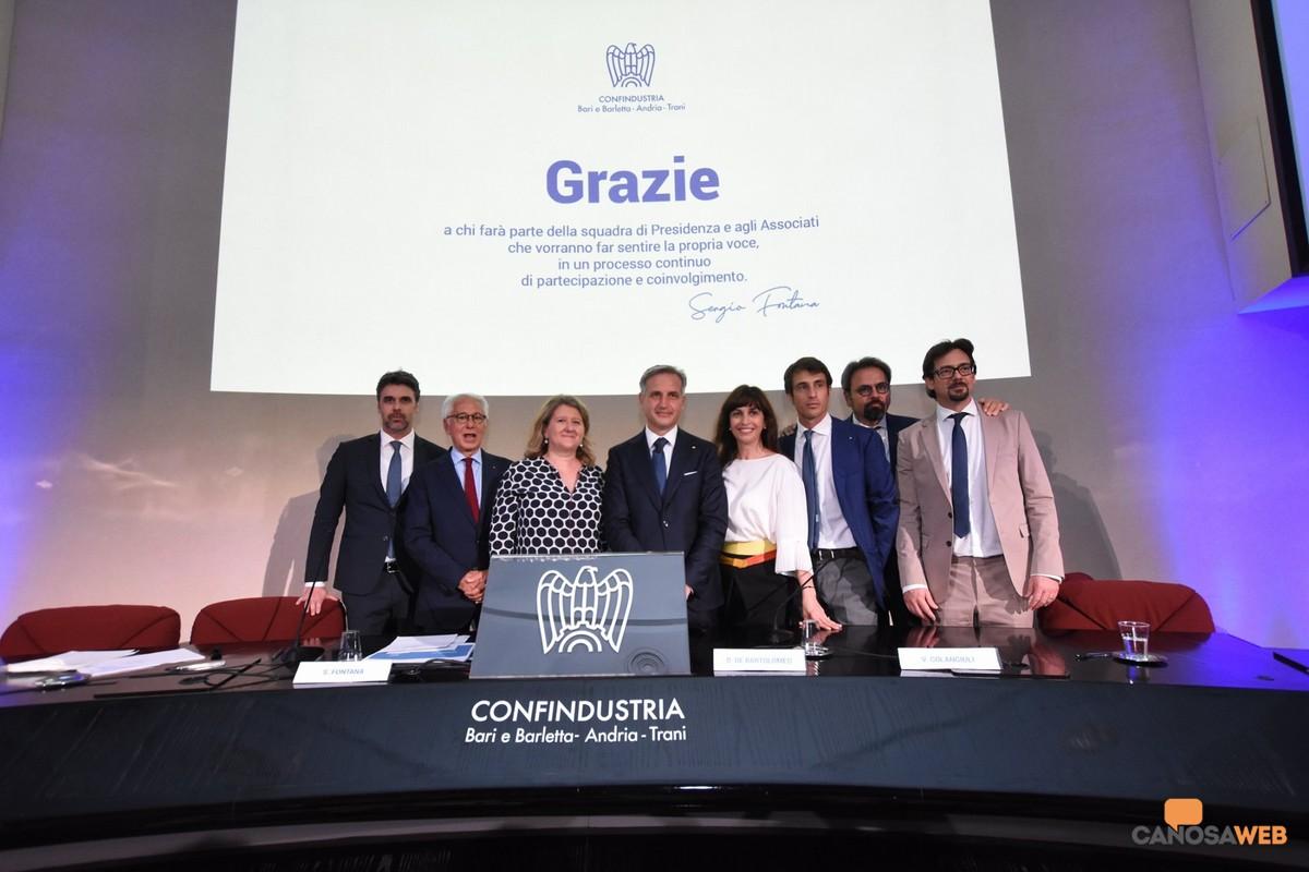 Sergio Fontana è il nuovo presidente di Confindustria Bari BAT