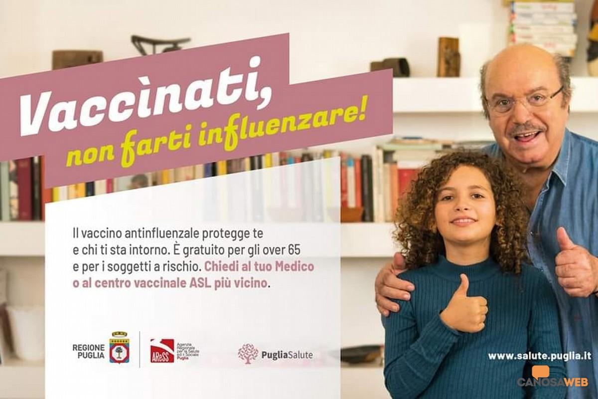 """Lino Banfi :""""Vaccinati, non farti influenzare"""""""