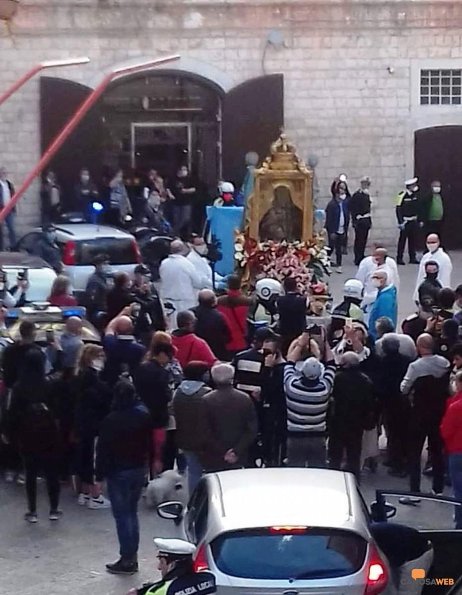 Barletta Madonna dello Sterpeto- 1° Maggio 2020