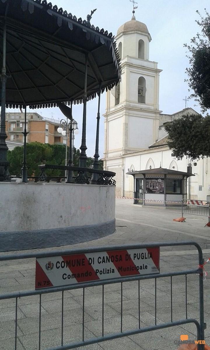 Cassa armonica Canosa di Puglia Villa Comunale  2020