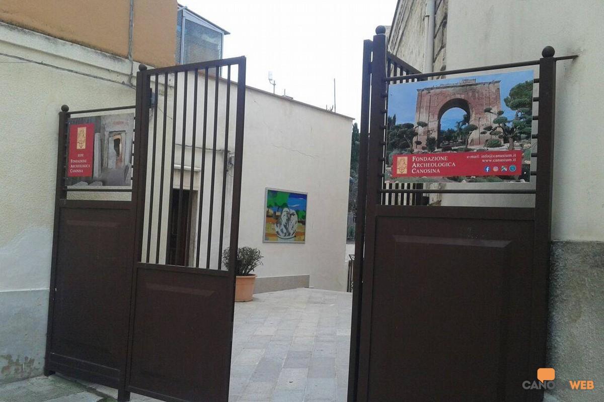 Nuova sede della Fondazione Archeologica Canosina