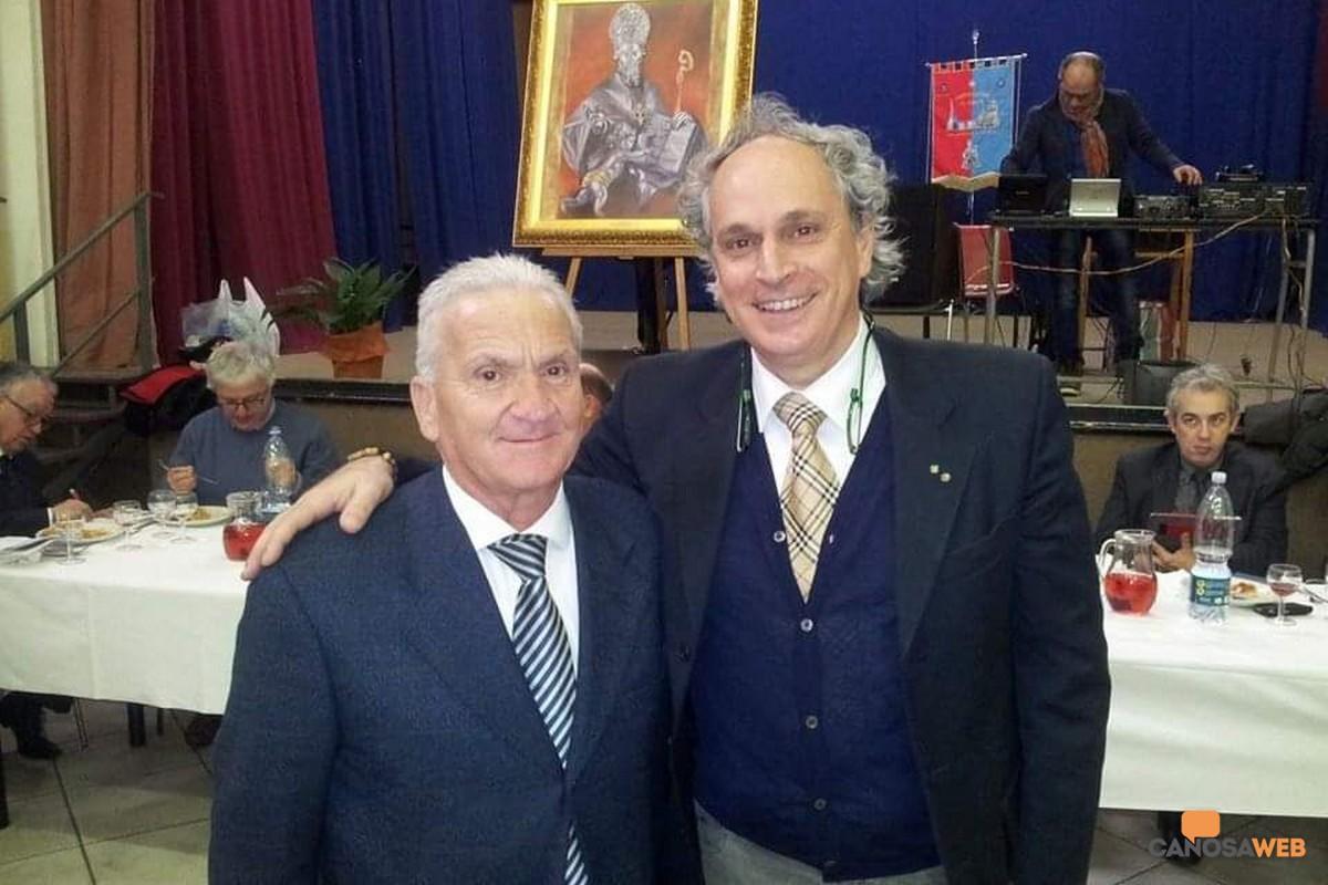 Gaetano Grossale con Enzo Princigalli