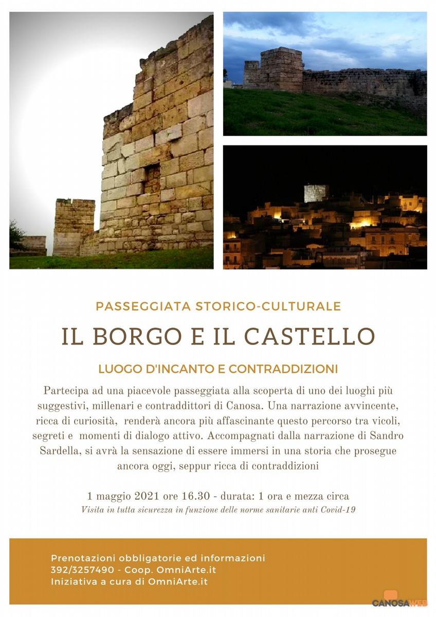 Canosa: Borgo e Castello, Luogo d'incanto e di contraddizioni