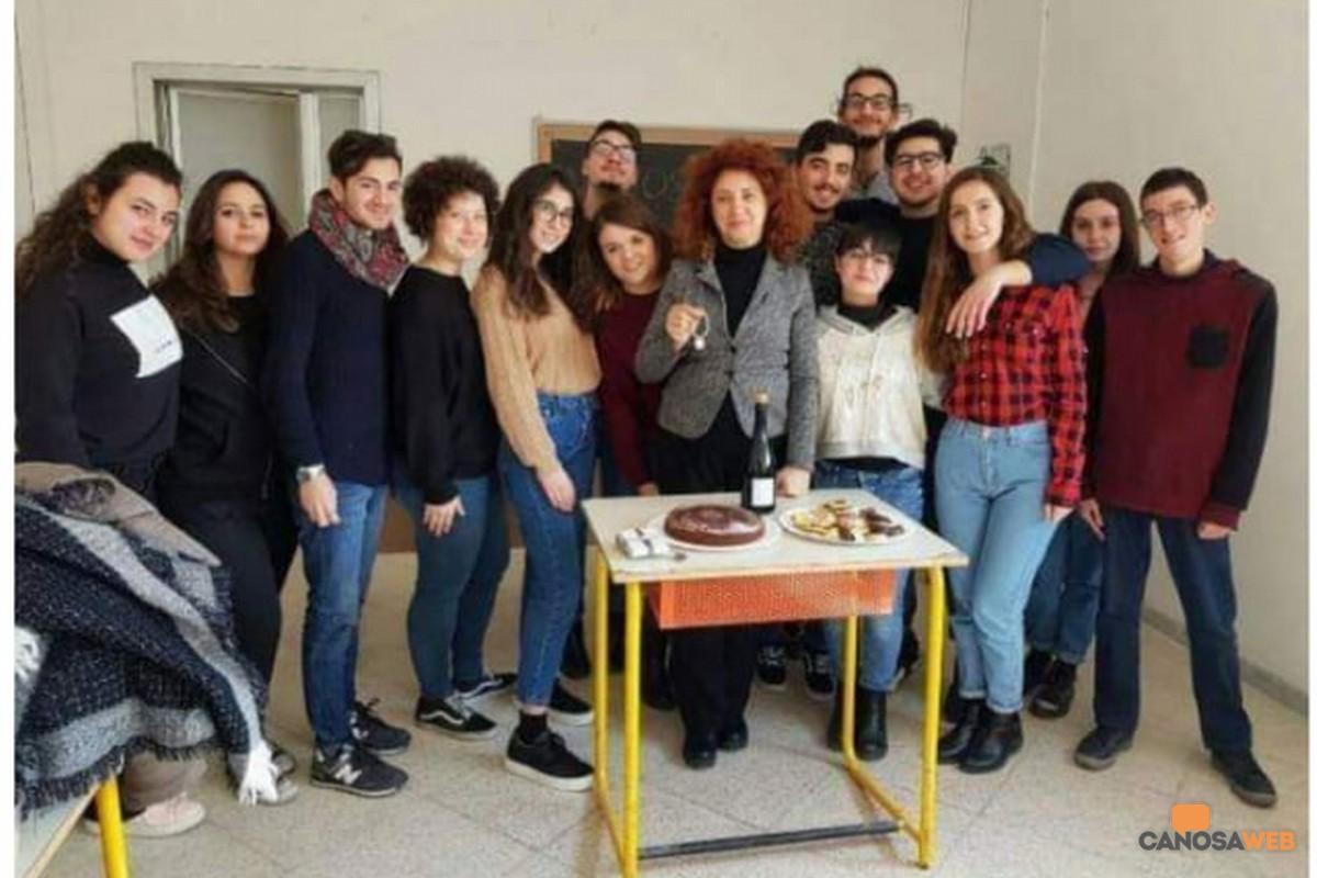 """2018 Martina Terrone Liceo Classico """"E.Fermi"""" Canosa di Puglia"""
