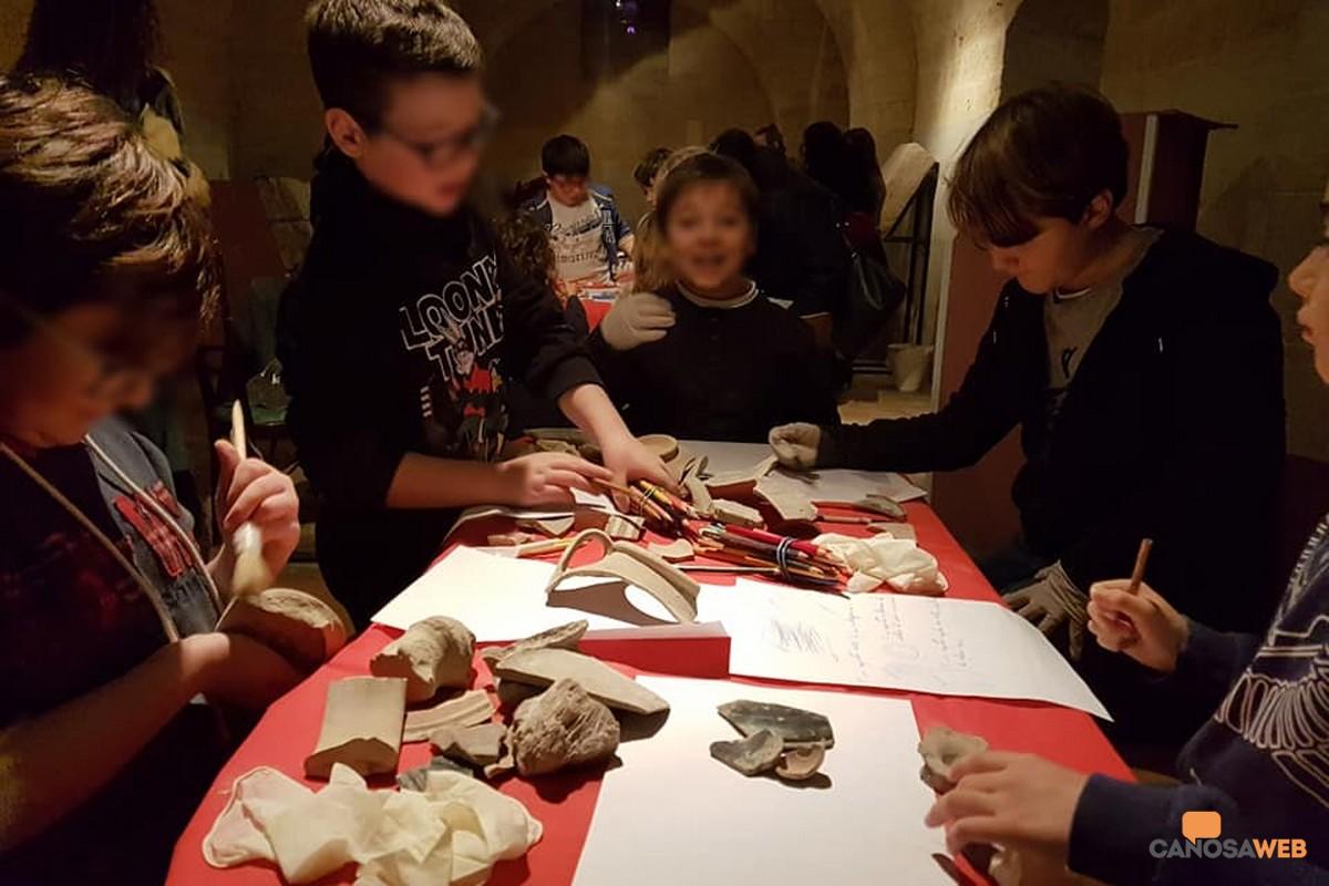 Piccoli archeologi crescono Museo dei Vescovi Canosa