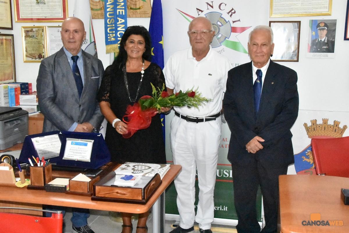 Nicla Basso premiata dai Cavalieri della Repubblica di Canosa