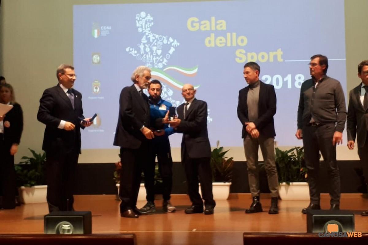 Stella di bronzo bronzo al merito sportivo  per Sabino Patruno